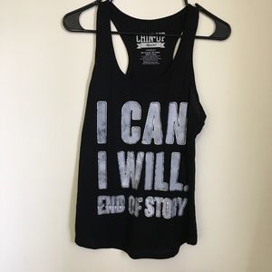 """""""I Can I Will End Of Story"""" Logo Tank M"""